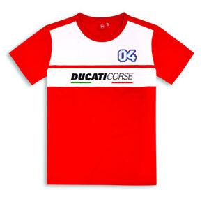 Ducati-Corse-Andrea-Dovizioso-Fan-Camiseta-D04-Moto-Gp-Limitado-Nuevo