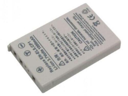 Power Smart 1000mah batería para Nikon Coolpix p100 p3 p4 p500 p5000 p510 en-el5