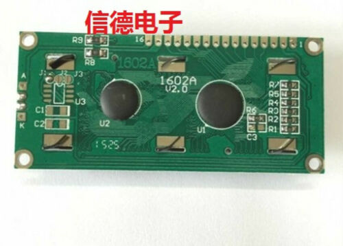 1PC Blue screen 1602A blue screen LCD screen blue 5V with backlight LCD1602