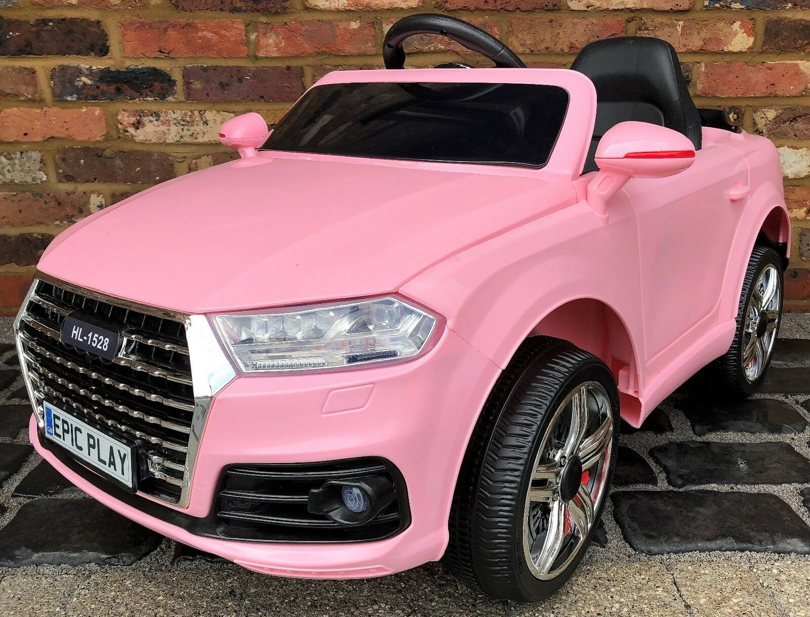 Kids Audi Q7 SUV S Line Style 12v Electric Battery ride on car  jeep 4x4 - Pink