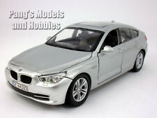 BMW 5 Series GT 1/24 Scale Diecast Model by Motormax - SILVER