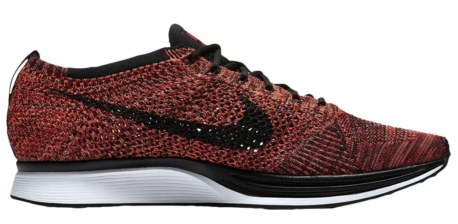 NEW homme Nike Flyknit Racer chaussures Taille: 13 Color: University rouge