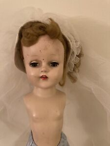 Antique-Bride-Doll-16-teeth-usa-170-As-Is