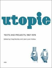 Utopie: Texts and Projects, 1967--1978 (Semiotext(e) / Foreign Agents) by