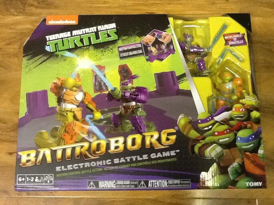 Teenage Mutant Ninjas Turtle-Battroborg Electronic Battle Game, Brand New