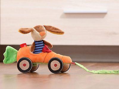 Sigikid Karottenmobil Mit Hase Nachziehtier Rollen Spielzeug Motorik Motorik Neu Ovp Spielzeug