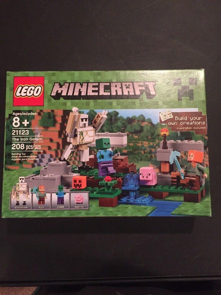 Lego 21123 Minecraft The Iron Golem GET IT FAST    US SHIPPER de8cf2