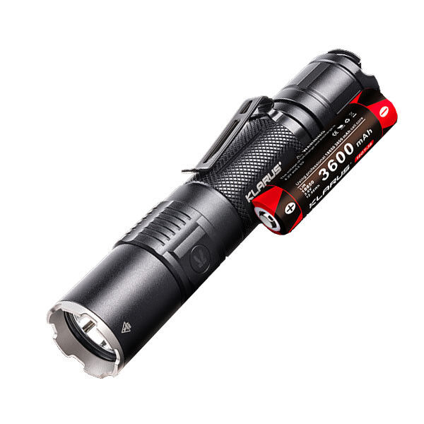 Klarus XT2CR Rechargeable Flashlight -1600Lm w/Battery w/Battery -1600Lm 5999bc