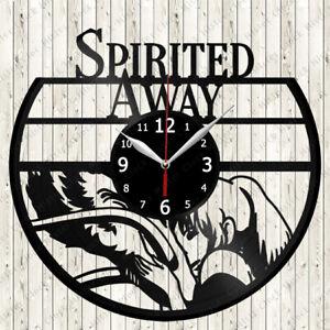Spirited Away Vinyl Record Wall Clock Decor Handmade 2711 Ebay