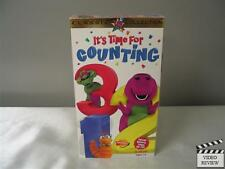 Barney - Its Time For Counting VHS, 1998