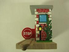 Thomas Brio Wood Stop Go Toll Booth Train Rail Road with Clickety Clack Track!