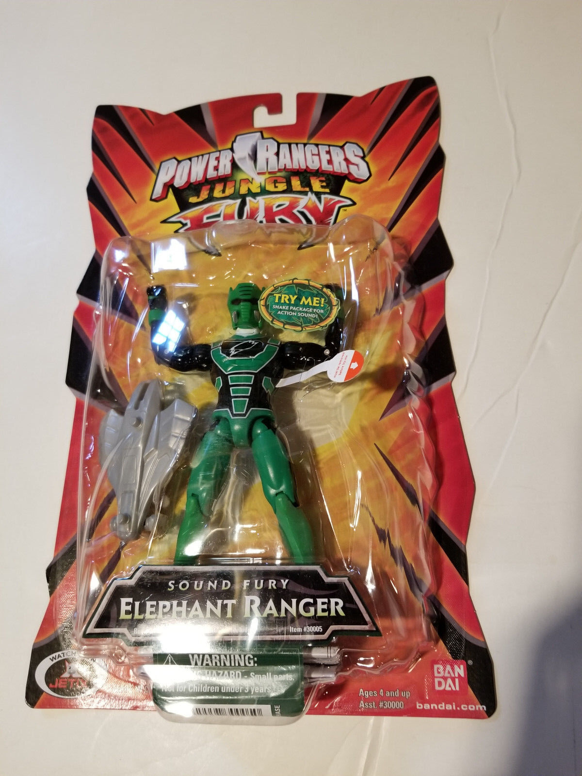 Power Ranger Jungle Fury Grün Figure Figure Gekiranger Sentai GOKAIGER Mega
