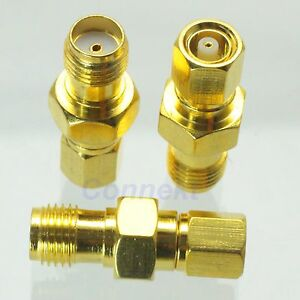 1pce-SMC-female-jack-to-SMA-female-jack-RF-coaxial-adapter-connector