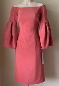 4 Antonio Melani Clovis Puff Sleeve Off the Shoulder Dress NWT Size 2