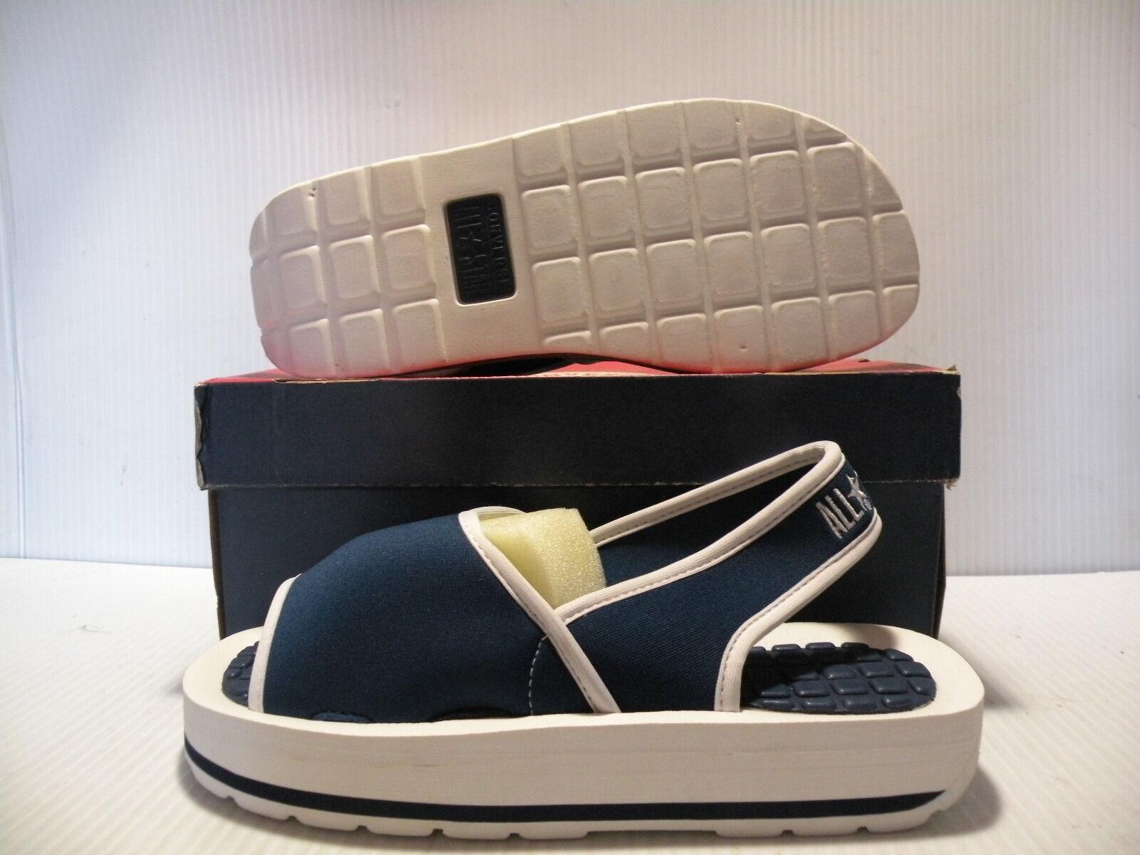 CONVERSE SLING-RAY SANDALS ALL STAR CT WOMEN Schuhe Blau/Weiß 55167 55167 Blau/Weiß SIZE 9 NEW caaa75