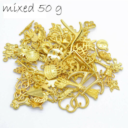 50 g//Bag of Various Mixed Zinc Alloy Charms Vintage Jewelry Accessories DIY Cool