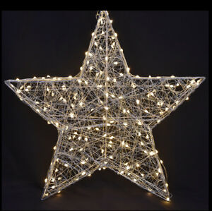 Stern beleuchtet 58 cm 120 LED für Außen/Innen (1034117 ...