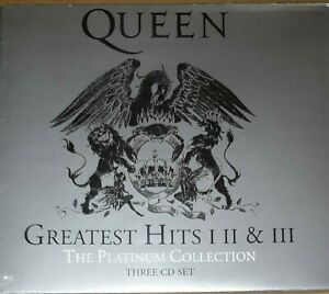 Greatest-Hits-I-II-amp-III-The-Platinum-Collection-di-Queen-CD-2011-3-Dischi