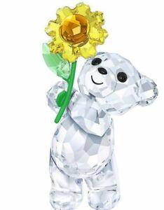 New-in-Box-SWAROVSKI-Kris-Bear-A-sunflower-for-you-5268764