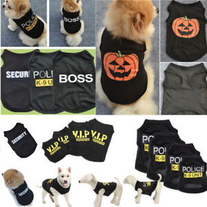 Small-Dog-Puppy-Black-Vest-Pet-Clothes-Christmas-Hallowee-Coat-Apparel-Costumes
