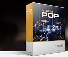 XLN Audio Studio Pop ADpak Drum Kit Sample EXPANSION for Addictive Drums 2