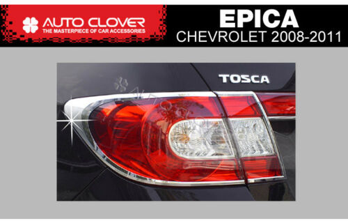 Taillight Lamp Chrome Garnish Molding Trim A741 For CHEVROLET 08 09 10 11 Epica