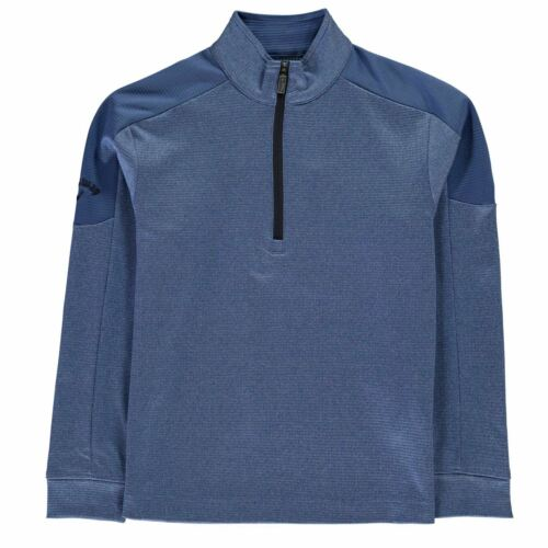 Callaway Kids Boys Quarter Zip Pullover Junior Sweater Jumper Long Sleeve