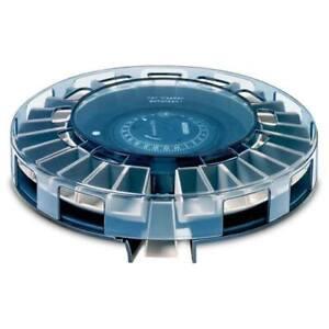 Graesslin-Futterautomat-Rondomatic-400-Flocken-amp-Granulatfischfutter-moeglich