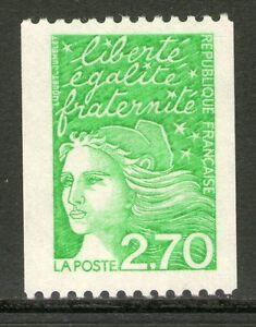 TIMBRE-N-3100-NEUF-XX-MARIANNE-DE-LUQUET-ROULETTE