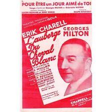 POUR ÊTRE un JOUR AIMÉ de TOI tango de Ralph BANATZKY L'AUBERGE du CHEVAL BLANC
