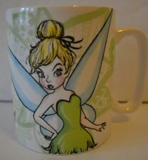 "Disney Fiesty Tinkerbell Coffee Mug by Enesco ""Full of Feistytude"" 14 oz. - NEW"