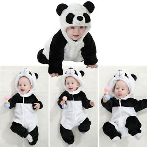 f108030b74af Image is loading Kids-Baby-Boy-Girl-Panda-Costume-Newborn-Infant-