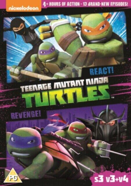Nuovo Tmnt Teenage Mutant Ninja Turtles - React e Revenge DVD