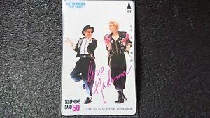 MADONNA-Phone-Card-Japan-Unused-1987-039-MITSUBISHI-Hi-Fi-VIDEO