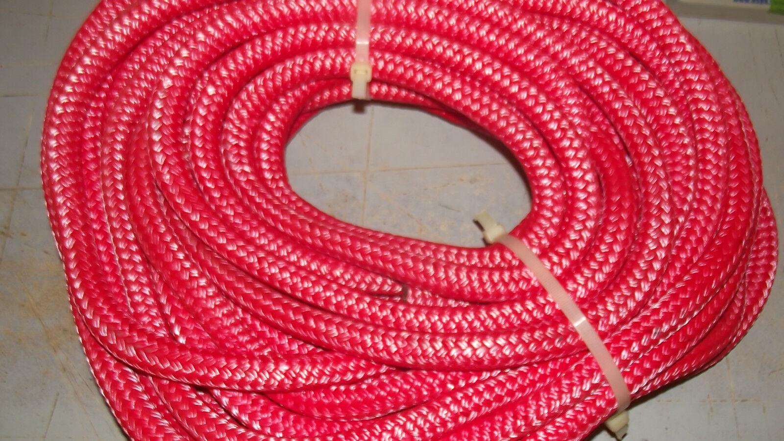 3 4  x 50' Double  Braid Rope, Arborist Bull Rope, Rigging Line, Hoist Line, NEW  shop online