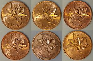 1981 Canada 1 Cent BU