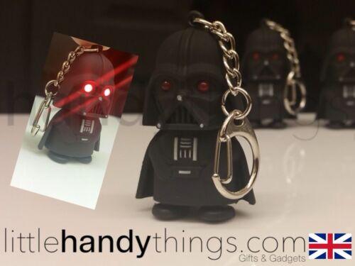 Lumière Rouge DEL Dark Vador Garçon Star Wars porte-clés//chaîne cadeau jouet
