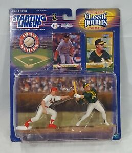 Mark McGwire Modesto A's & St Lou Cardinals Starting Lineup 1999 Classic Doubles