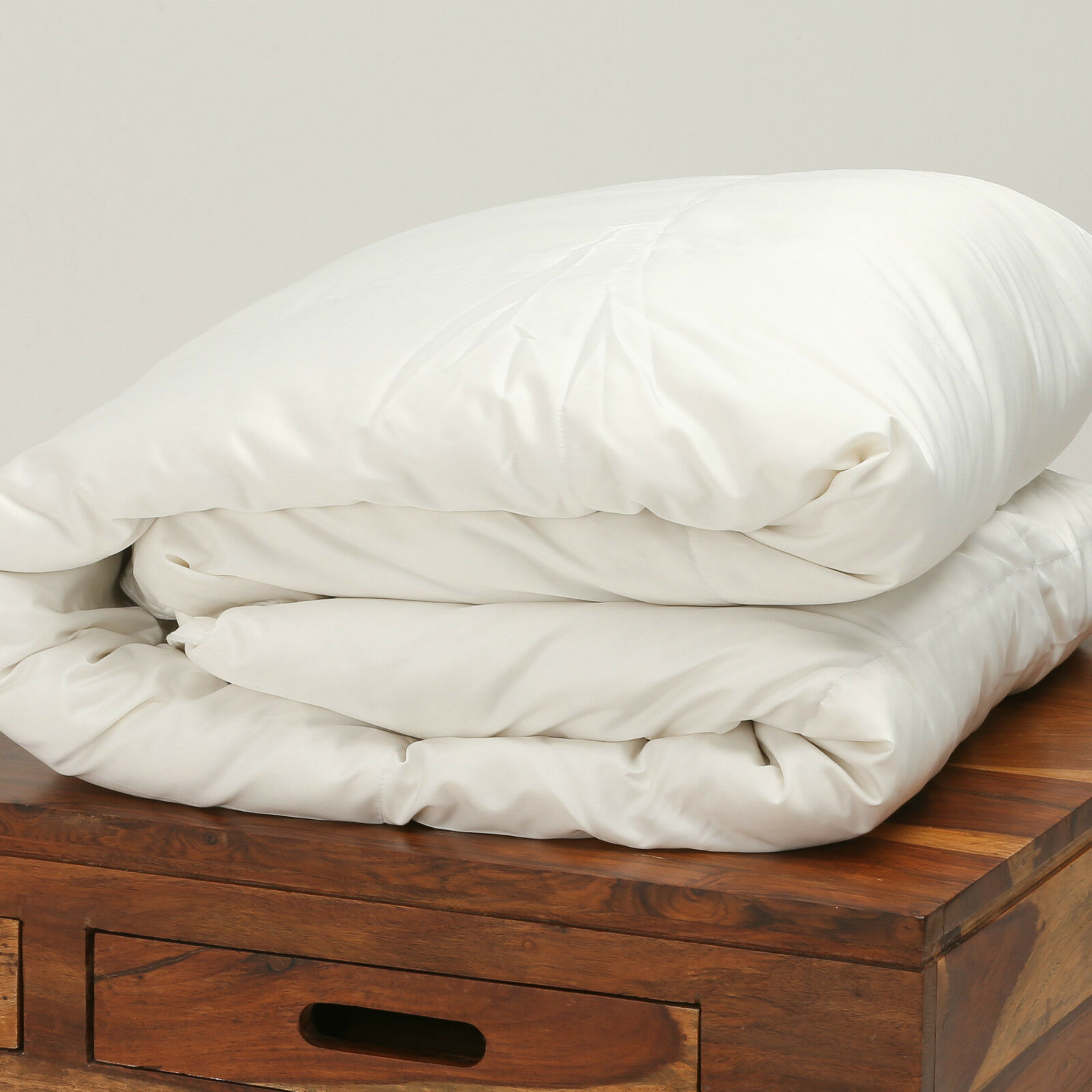 100 Pure Siberian Goose Down Silk Cover Super King Bed