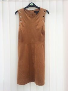 Brown-Suede-Effect-Size-12-Dress-From-Primark