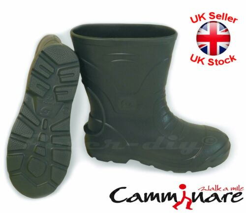 Camminare LIGHTWEIGHT EVA MATERIAL Wellies Wellingtons Boots Voyager Summer