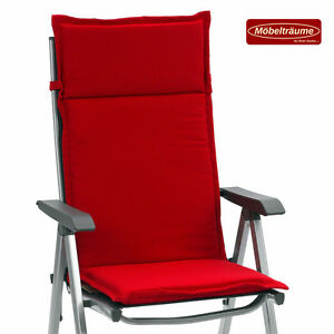 auflagen f r hochlehner sessel sitzkissen gartenstuhl. Black Bedroom Furniture Sets. Home Design Ideas