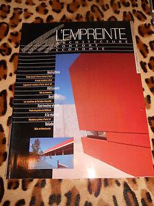 L'empreinte, Architecture-confort-économie N° 45, 1999 - Gdf, Cegibat Par Processus Scientifique