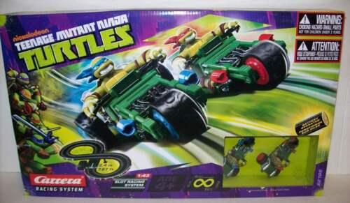 Carrera Teenage Mutant Ninja Turtles Battery Road Race Track Set NEW Free Ship!