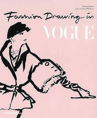 Fashion Drawing in Vogue, David Hockney, William Packer, Good Used  Book