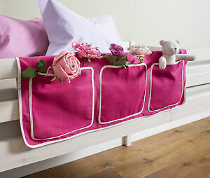 Bed Tidy Pocket Organiser For Cabin Beds Bunks Multi Colours Ebay