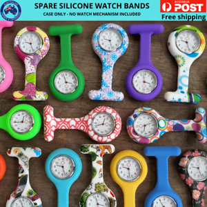 Spare-Silicone-Watch-Case-for-Nurses-Brooch-Medical-Fob-Watch-Spare-Band-only
