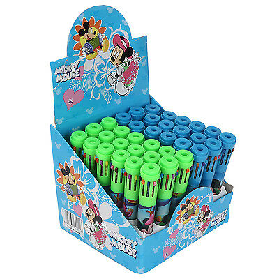 36 Pcs Mickey Minnie print 10 in 1 Colour Pens for Kids Birthday Return Gifts
