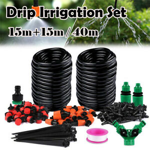 Automatic-Timer-40M-30M-Water-IRRIGATION-Micro-Drip-Watering-System-for-Garden