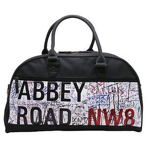 GroßZüGig Plan B Herren-accessoires Black Abbey Road Bowling Bag/travel Holdall Gutes Renommee Auf Der Ganzen Welt